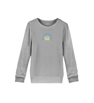 Kinder Sweater Regenbogen