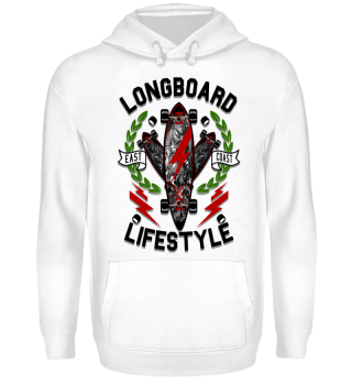Herren Hoodie Sweatshirt Longboard Ramirez