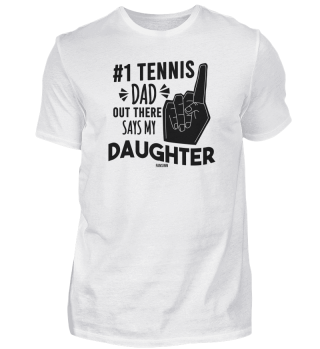 Tennis teacher trainer father daughter