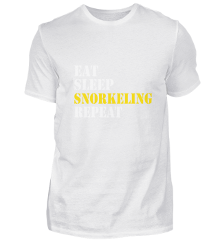 eat sleep snorkeling repeat