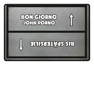 John Porno / Spätersilie Hell
