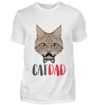 D007-0038P Cat Dad - Poster Vater