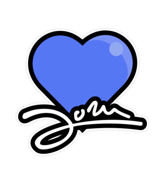 JORN loves You! Sticker