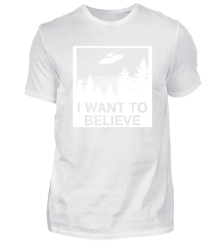 I Want To Believe - Alien Shirt