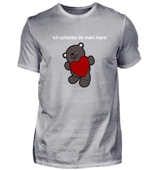 Ich schenke dir mein Herz Teddybär