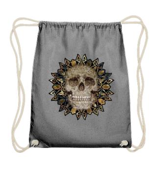 Celtic Mandala Refief Skull grunge