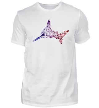 >> tribal shark tattoo for divers 14
