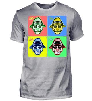 Herren Kurzarm T-Shirt Vato Ramirez