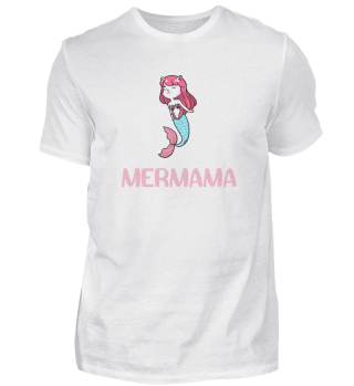 Mermama Meerjungfrau Mutter Wassernixe