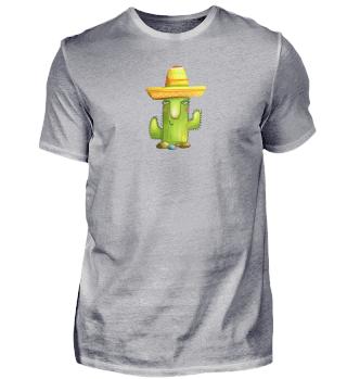 Cute Cactus Sombrero Mexican Cinco De Mayo Plant Lover