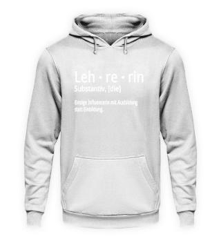 Shirt Lehrerin - Influencerin