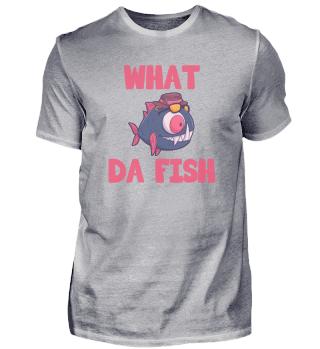 What Da Fish Angler Aquarium Geschenk