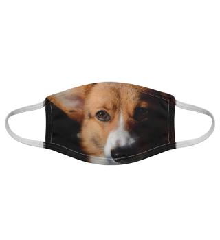 Gesichtsmaske mit Hundemotiv 20.15