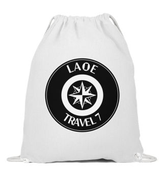 Laoe Travel 7 Logo Rund Black