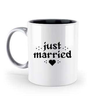 Just married Hochzeitsgeschenk Gamer