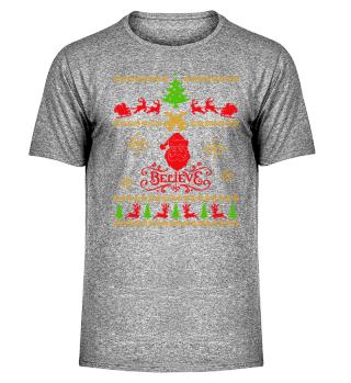 UGLY CHRISTMAS DESIGN - STRICKMUSTER #7.5