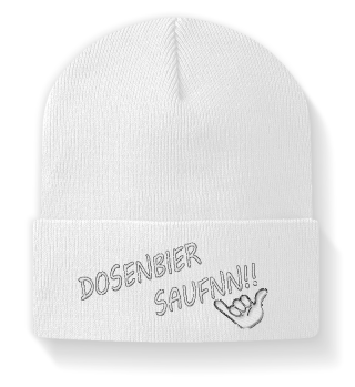 Dosenbier Saufnn!! Caps&Beanie