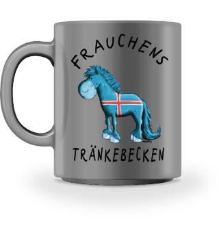 Frauchens Tränkebecken Isländer I Tasse