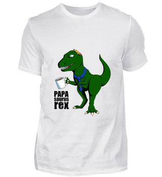 Vatertag Geschenk Dinosaurier Papa
