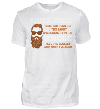BEARDED FUNCLE FAMILY T-SHIRT