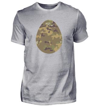 Easter Egg Camouflage Symbol Gift