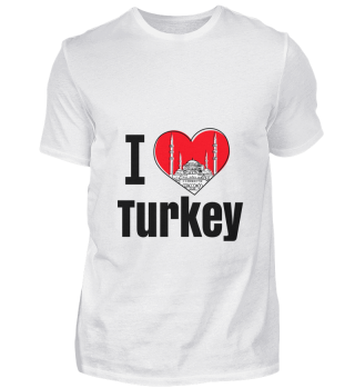 D001-0077B I love Turkey / Türkei