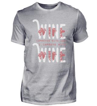 Wine drinker gift | funny saying