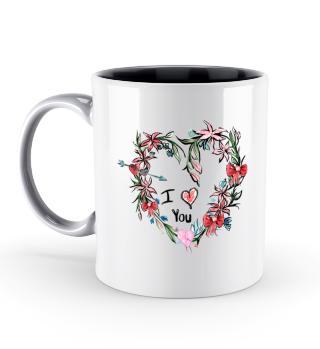 Blumen Herz Valentinstag Geschenk idee