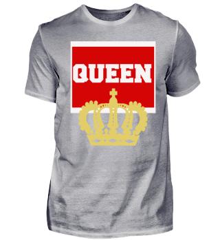 Queen - Partnerlook Geschenk Idee