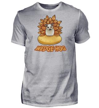 Kartoffel Wedges Igel Pommes Süßes Tier