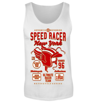 Herren Tank Top Speed Racer Ramirez