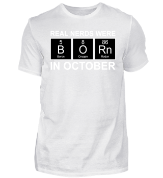 Periodic Elements - BORN october white