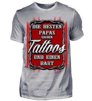 Papa, Tattoos und Bart