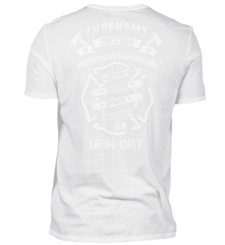 Feuerwehr Ehrenamt Individualisierbar