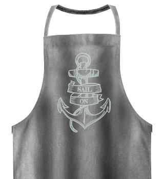 Sail On BBQ Apron