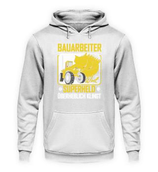 Bauarbeiter Bagger · Superheld
