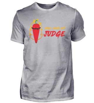 Chili Cook Off Judge Scharf Habanero