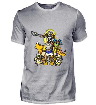 Paladinfreunde Gamer Streamer Shirt Hearthstones