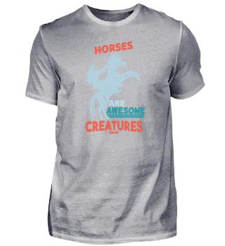 Horses are amazing creatures