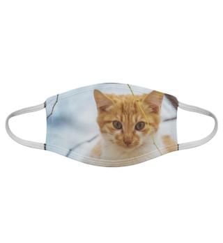 Gesichtsmaske mit Katzenmotiv 20.46