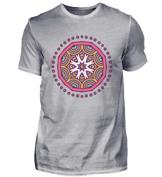 Mandala lotus flower tantra yantra