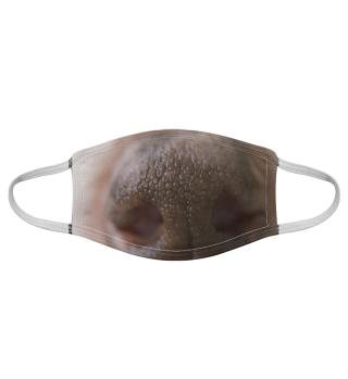 Gesichtsmaske mit Hundemotiv 20.18