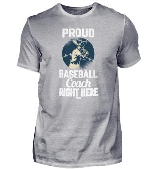 Proud Baseball Teacher Trainer