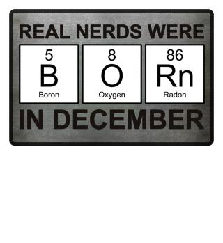 Periodic Elements - BORN december black
