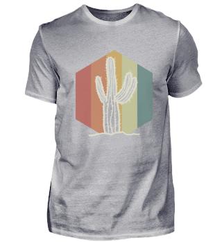Kaktus Retro Farben Stacheln Cooles