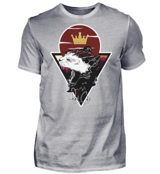 Red Cat Logo Shirt