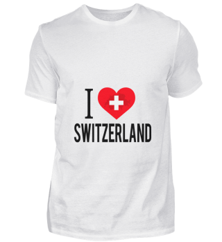 D001-0087B I Love Switzerland / Schweiz