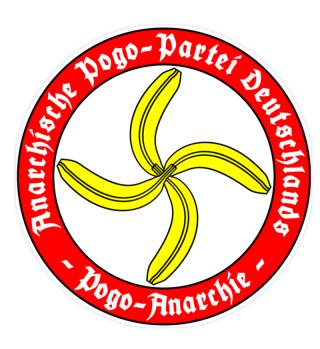 Sticker Pogokreuz APPD