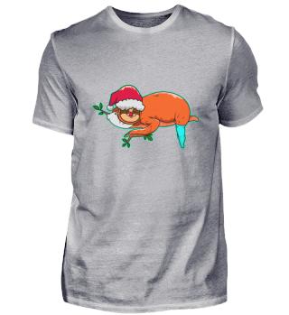 Sloth Christmas Christmas Hat