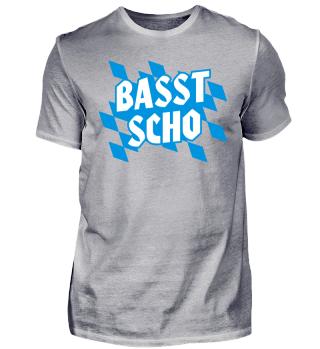 Freistaat Bayern Farben - Basst Scho